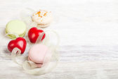 Hears and sweets valentine  background — Foto Stock