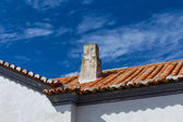 Chimneys in Algarve, Portugal. — Stock Photo