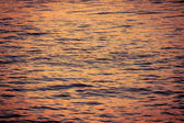 Surface water in the sunset time — Stock Photo