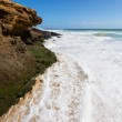 Beach near Lagos, Algarve, Portugal — Stock Photo #55557649