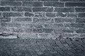 Bardzo stary texture brick wall — Zdjęcie stockowe