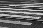 斑马线 — 图库照片