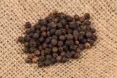 Black pepper peas  — Stock Photo