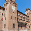 Estense Castle. Ferrara. Emilia-Romagna. Italy — Stock Photo #59175285