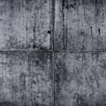 Vintage grey painted plaster concrete wall background. Dark edge — Stock Photo #61920409