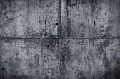 Vintage grey painted plaster concrete wall background. Dark edge — Stock Photo