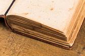 Páginas del libro viejo — Foto de Stock