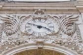 Augusta street clock, Lisbon, Portugal — Stock Photo