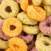 Colorful cereal — Stock Photo