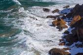 Water, waves and rocks — ストック写真