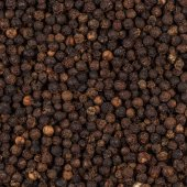 Black pepper zoomed in on — Stock Photo