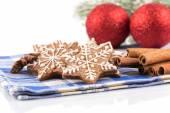 Pan pepato di Natale fatti a mano — Foto Stock