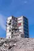 Casa demolita prima ricostruzione — Foto Stock