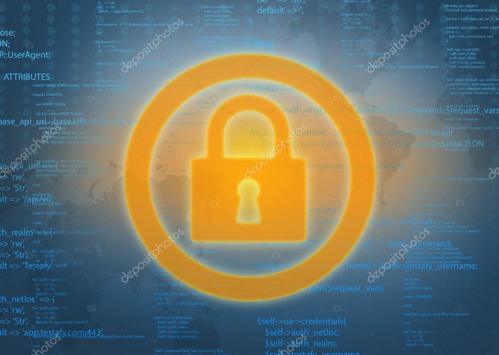 Computer Code Icon of Computer Code Foto de