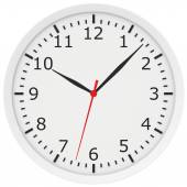 Clock with arrows and numbers. — Stock Photo