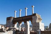 Ruins of St Johns Basilica — Stock Photo