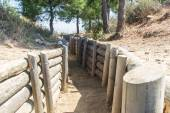 Open Air Museum of  Trenches in Canakkale — Stock Photo