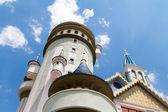 Märchenschloss im Park — Stockfoto