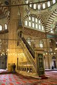 Indoor of Edirne Selimiye Mosque — Stock Photo