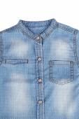 Blue Denim Shirt — Stock Photo