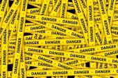 Danger Tape — Stock Photo
