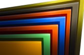 Glass Picture Frames — Stock Photo