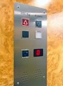 Passenger elevator cabin — Stock Photo
