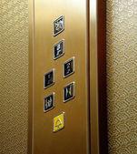 乘客电梯轿厢 — 图库照片
