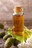 Pure essential oil — Stock Photo
