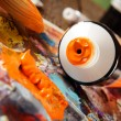 Aristic acrylics paints — Stock Photo #58962715