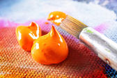 Aristic acrylics paint — Foto Stock