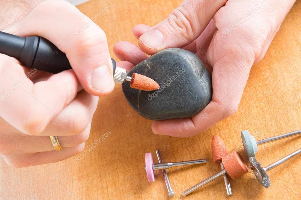 Как отполировать камни в домашних условиях