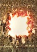 Exploding wall — Stock Photo