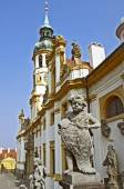 The Prague pilgrim place Loreta — Stock Photo