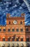 Siena architectonic detay — Stok fotoğraf