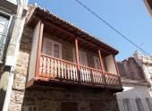 Balcony of a house — Stock Photo