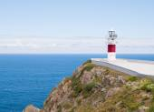 Ortegal lighthouse in Galicia, Span. A beautiful landmark. — Stock Photo