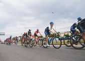 FERROL, SPAIN - SEPTEMBER 10: Unknown racers on the competition — Stock Photo