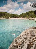 Turqueta beach in Menorca, Spain. — Stock Photo