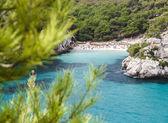 Macarelleta beach in Menorca, Spain. — Stock Photo