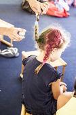Children in summer school — Stock Photo
