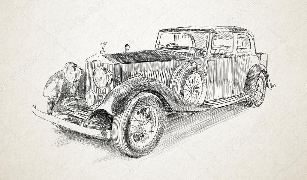 Dibujos a lapiz de coches simple volkswagen oil on cavas best imgenes a lpiz de carros imagui - Dessin vieille voiture ...
