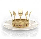 King of the kitchen — Stock Photo