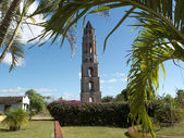 Colonial tower in Cuba. — Stock Photo
