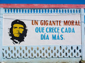 Slogan of Che Guevara. — Stock Photo