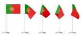 Small table flag of Portugal — Stock Photo