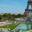 Paris, skyline with tour Eiffel — Stock Photo #55834125