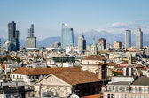 Milano (Italy), skyline with new skyscrapers — Stock Photo
