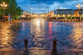 Turin (Torino), Piazza Vittorio at early morning — Stock Photo