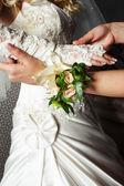 手袋花嫁 — ストック写真
